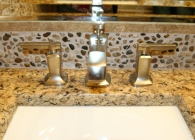 Small Stone Back Splash