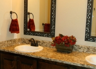 Santa Cecilia Granite Bathroom Counter