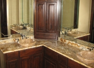 Copper Valley Master Bathroom Counter