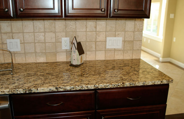 santa cecilia granite in a fantastic kitchen