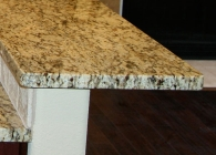 Flat Polish Granite Edge
