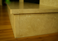 Travertine Fireplace Hearth