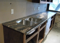 Golden Fantasy Granite Kitchen
