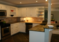 Northwest Austin Kitchen with Wild West Granite