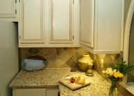 Giallo Ornamental Granite Kitchen