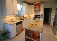 Designer Kitchen with Giallo Ornamental Granite