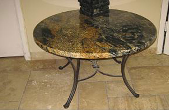 Custom Granite Table Tops In Austin