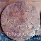 Bordeaux Granite Round Tabletop