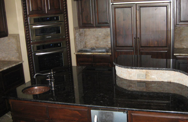 Antique Brown Granite Counter