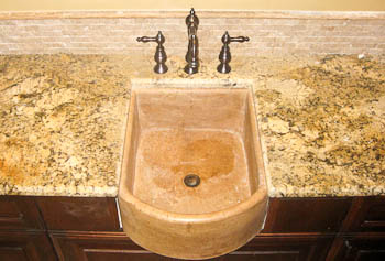 Apron Front Stone Sink Undermount Granite
