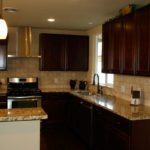 Windsor Park Kitchen with Santa Cecilia Granite Counters