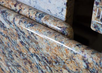 Full Bullnose Granite Edges