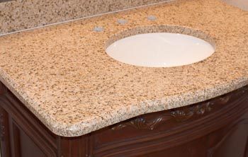 Half-Inch Beveled Granite Edges