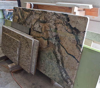 Granite samples and types for Types of slabs for house