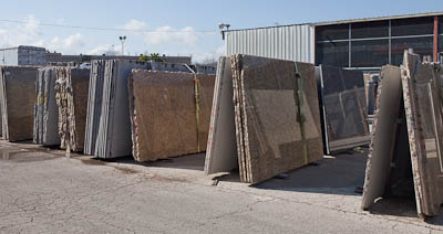 Austin granite slabs