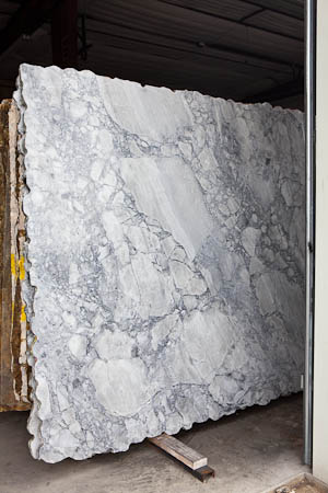 Arabescato Quartzite Grey Goose Slab Austin Texas