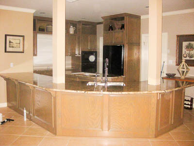 Neptune Bordeaux Granite Counters Liberty Hill TX