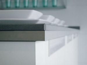 CaesarStone Countertop in Concrete 2003 (Commercial Line)