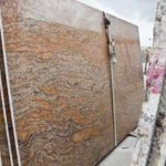 Slab of Copper Canyon Exotica granite