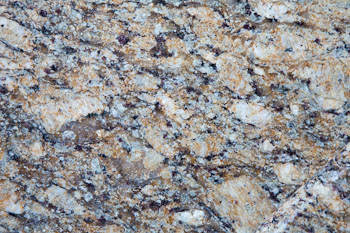 Giallo Napoleon Granite detail