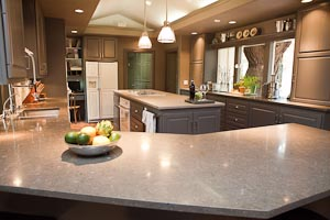 Nova Blue Limestone Kitchen Countertops