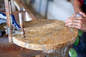 Making a Custom Granite Lazy Susan