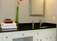 Black Pearl Granite Master Bathroom Counter