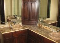 Copper Valley Master Bathroom Counter
