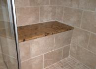 Jaguar Granite or Lapidus Granite Shower Bench