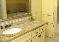 Yellow River Bathroom Counter