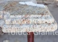 Laminated Edge on Yellow River Granite