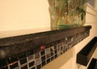 San Marcos Black Granite Fireplace Mantel