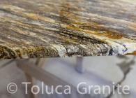 Hurricane Granite with Bevel Edge