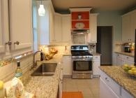 Designer Kitchen with Giallo Ornamental Granite