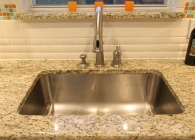 Giallo Ornamental with Undermount Stainless Steel Sink