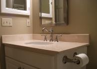 Creme Marfil Marble Bathroom Counter