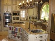 Typhoon Bordeaux Granite Kitchen