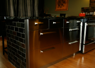 Stainless Steel Cabinets from IKEA