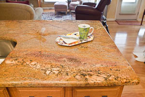 Crema Bordeaux Granite Countertops