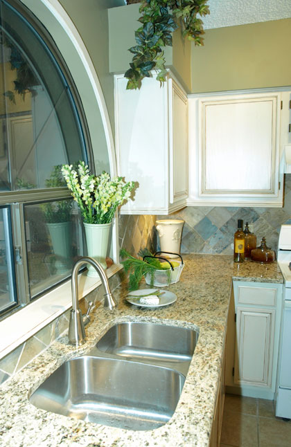 Giallo Ornamental Kitchen Countertops
