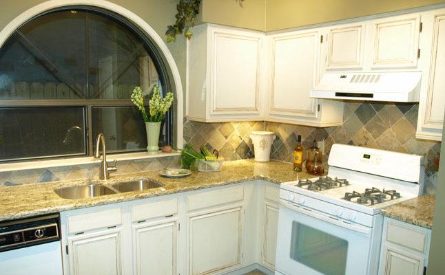 Giallo Ornamental Granite in a Designer Kitchen