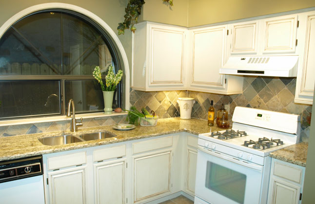 Designer Kitchen Giallo Ornamental Granite