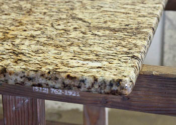 Eyebrow Edge Granite