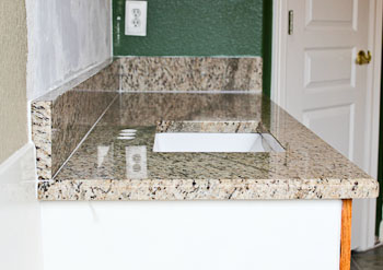 Half-inch Bevel Granite Edge