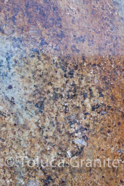 Madera Gold granite for a bathroom vanity countertop
