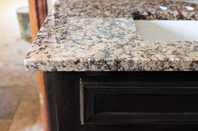 granite bathroom vanity top Round Rock Texas