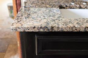granite bathroom vanity top Round Rock Texas