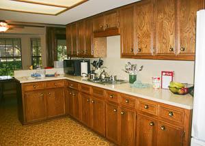 An old kitchen in Northwest Austin