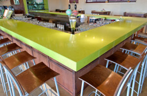 CaesarStone Quartz Apple Martini 2710 Bar Counter (Commercial Line)