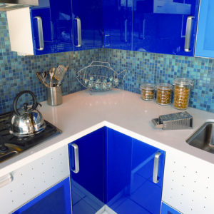 CaesarStone Blizzard 2144 Kitchen
